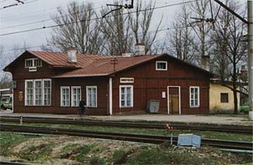 The little train station of Siverski near Vyra, where Nabokov's father made the Nord-Express stop. (Photo: DEZ)